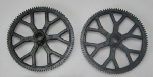 9053-08 Top/bottom main gear - Zębatki Górna + Dolna Kpl
