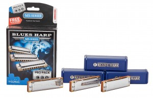 HOHNER Blues Harp ProPack 3x Harmonijka ustna Blues Harp (C-, G-, A-major)