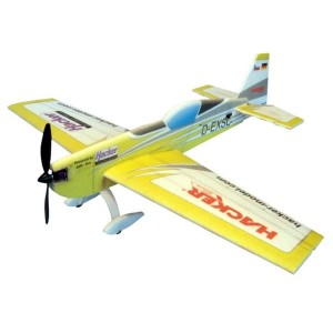 Extra 330SC Double Hacker ARF Yellow - Samolot Hacker Model
