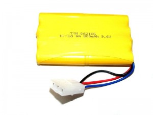 800mAh 9.6V Ni-Cd Tamiya 3pin