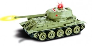 "Russian T34 ""Rudy"" RTR 1:24"