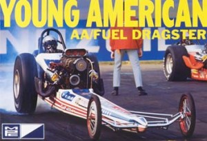 Model plastikowy - Carl Casper Young American Dragster - MPC