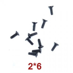 Countersunk Head Tapping Screws 2x6 Wl Toys A949-47