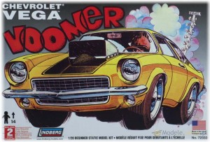 Model Plastikowy Do Sklejania Lindberg (USA) - Chevy Vega Voomer